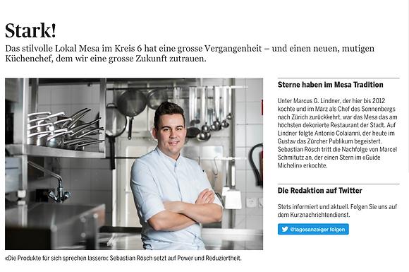 Stark! / Tagesanzeiger - Züritipp: Gastro
