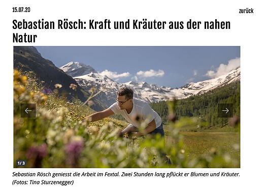 Kraft und Kräuter aus der nahen Natur / GastroJournal.ch