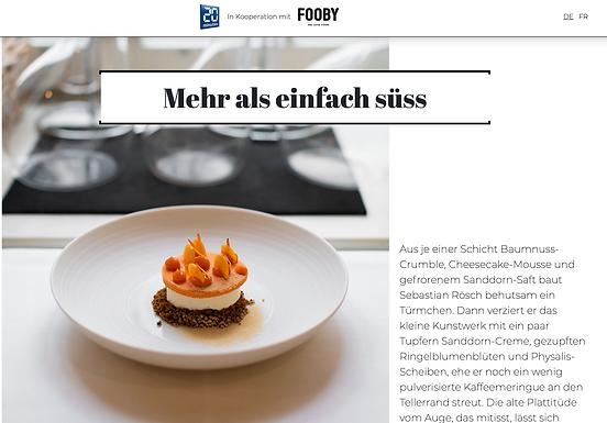 Mehr als einfach süss / fooby.ch