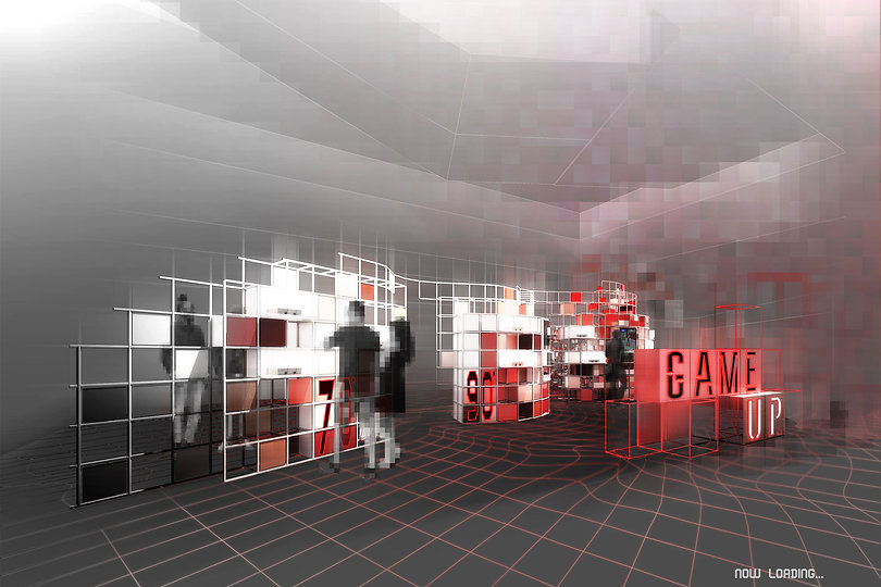 HIR Studio, HIR Architects, HIR Architecture, interior design, public installation, K11 Hong Kong, K11 public intallation, gaming exhibition