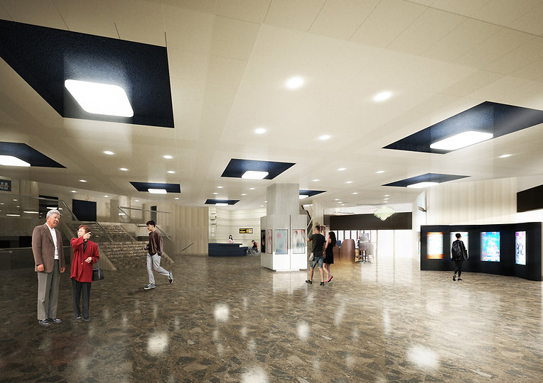 SHA TIN TOWN HALL INTERIOR DESIGN REVAMP