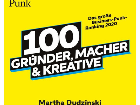 Martha auf Business Punk Watchlist 2020