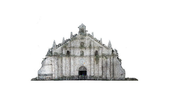 Paoay Church (Transparent).png