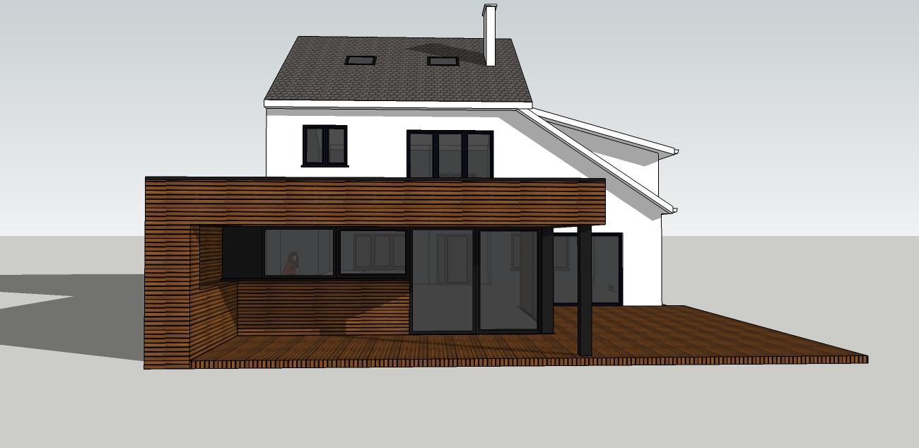 nouveau séjour + terrasse couverte