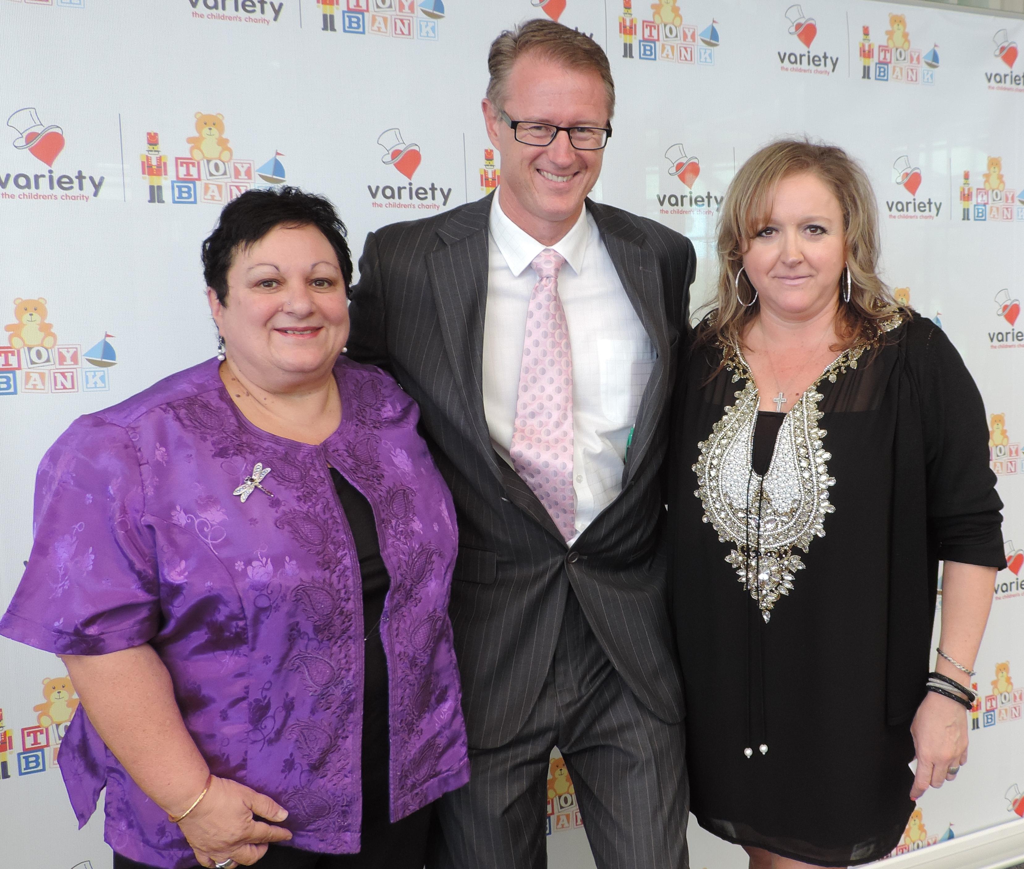 Angela, Michael and Judy