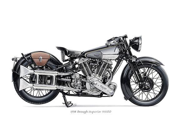 Brough Superior SS100 1938