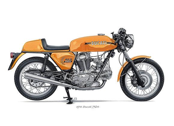 Ducati 750S 1974