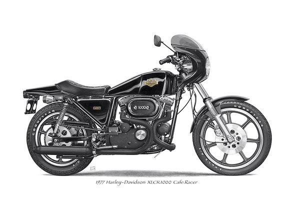 Harley Davidson Cafe Racer XLCH
