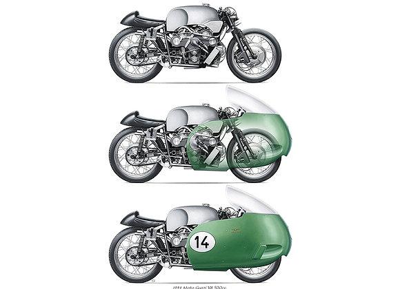 Moto Guzzi V8 1954 trio