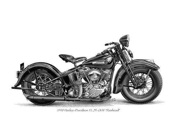 Harley Davidson Panhead 48
