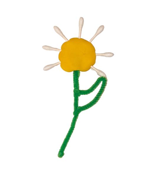 Q-tip daisies