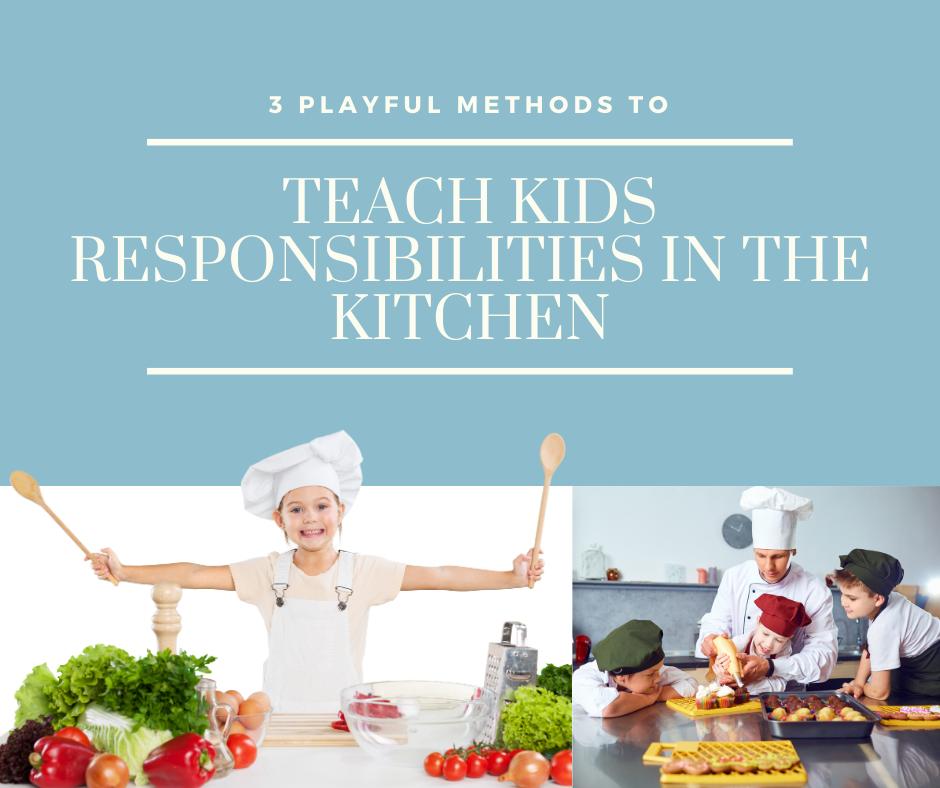 Child Chefs helping in the kitchen