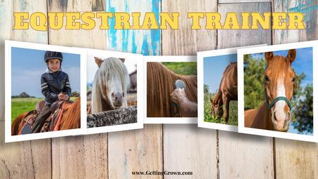 Featured Career: Equestrian Trainer