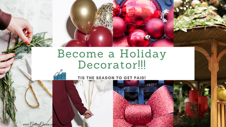 Featured Career: Holiday Decorator