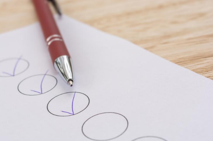 Create a list of tasks