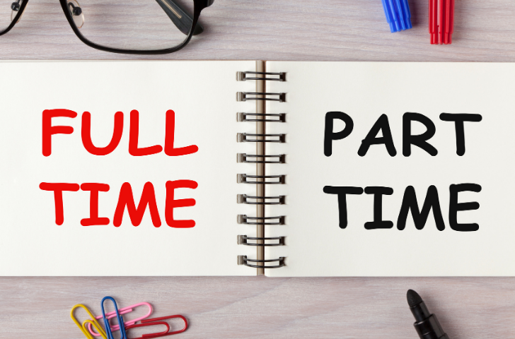 Full Time or Part Time work