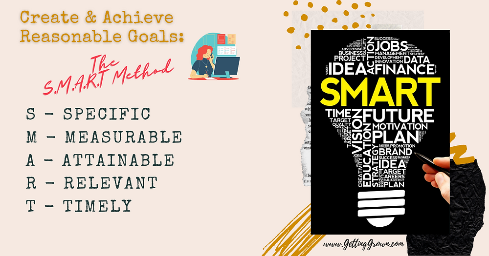 How to Create and Achieve Reasonable Goals: The S.M.A.R.T. Method