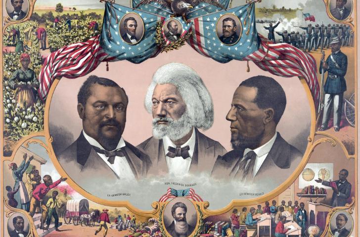 Collage of great Black men