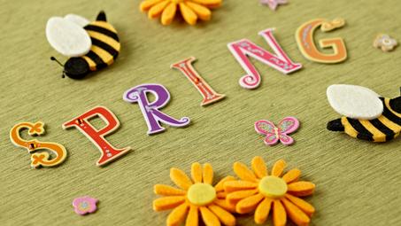 Springtime Crafts for Kids