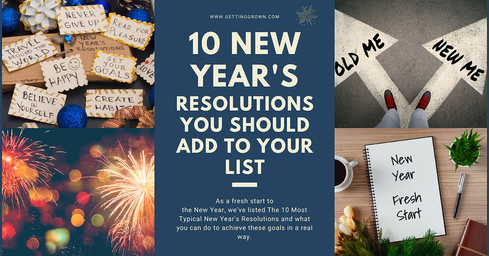 10 New Year's Resolutions you should add to your list