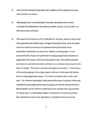 Dr. Spitz Affidavit - page 3.