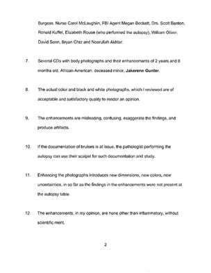 Dr. Spitz Affidavit - page 2.
