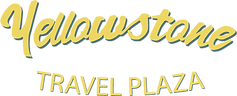 Yellowstone Travel Plaza Logo Words Web.