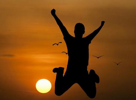 Lycka och hur den hör ihop med psykisk hälsa.