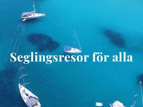 Vanlig charterresa eller häftig seglarresa med More Sailing? - Det är frågan!