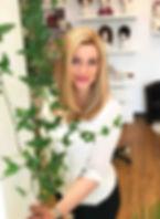 Christina blonde Perücke Echthaar