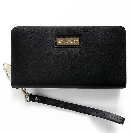 Women's SAVVYROOT Dre' Wallet Black