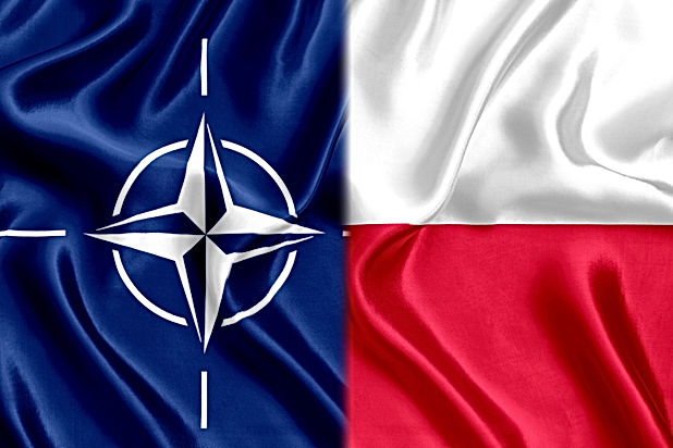 Flag of Poland and Nato Silk.jpg