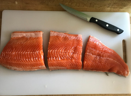 Citrus Sunrise - Arctic Char Recipe