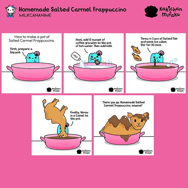 Salted Camel Frappucinno by Miraku