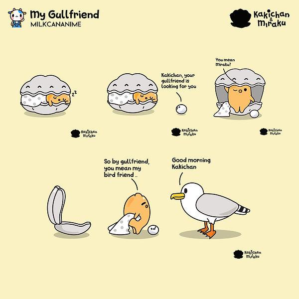 Kakichan and Gullfriend