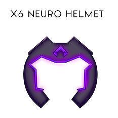 helmet sign Medium X6 NEURO Words for bl