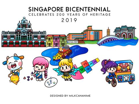 Singapore Bicentennial for KidZania Singapore