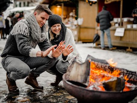 Wintershooting auf dem Weihnachtsmarkt