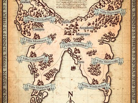 Mappa fantasy: Wyth Island