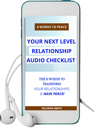 Only 8 Words to Have Peaceful Relationsh