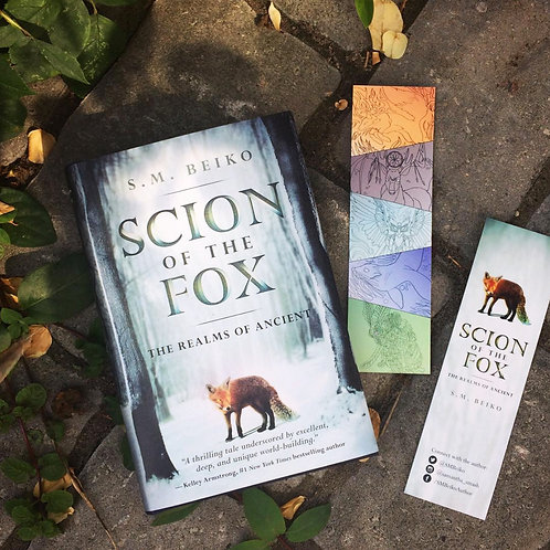 SCION OF THE FOX--Signed Trade Paperback