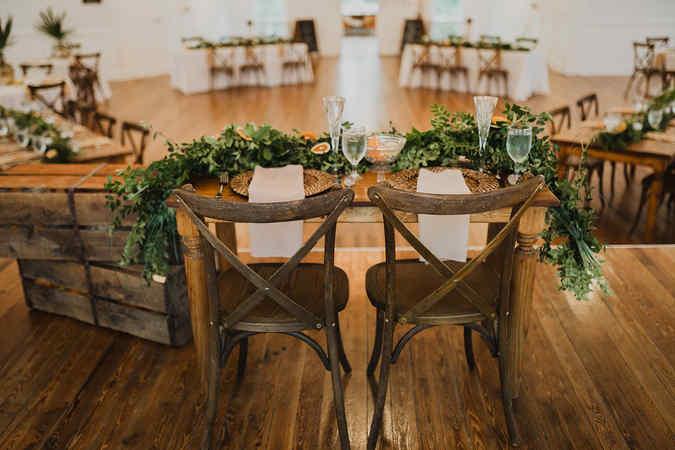 Sweet heart Farm table
