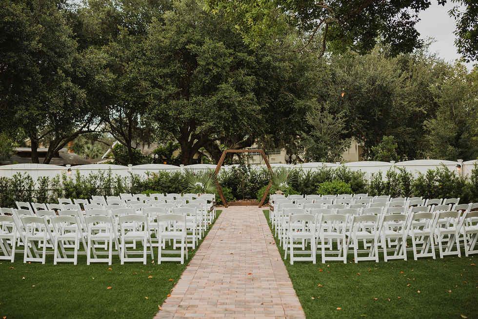 Venue 1902 Wedding Garden
