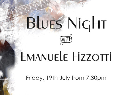 Blues Night at Stuzzico...