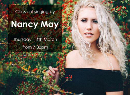 Nancy May - 14th March