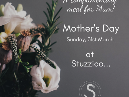 Celebrate Mother's Day at Stuzzico...