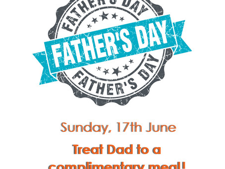 Treat Dad on Father's Day!