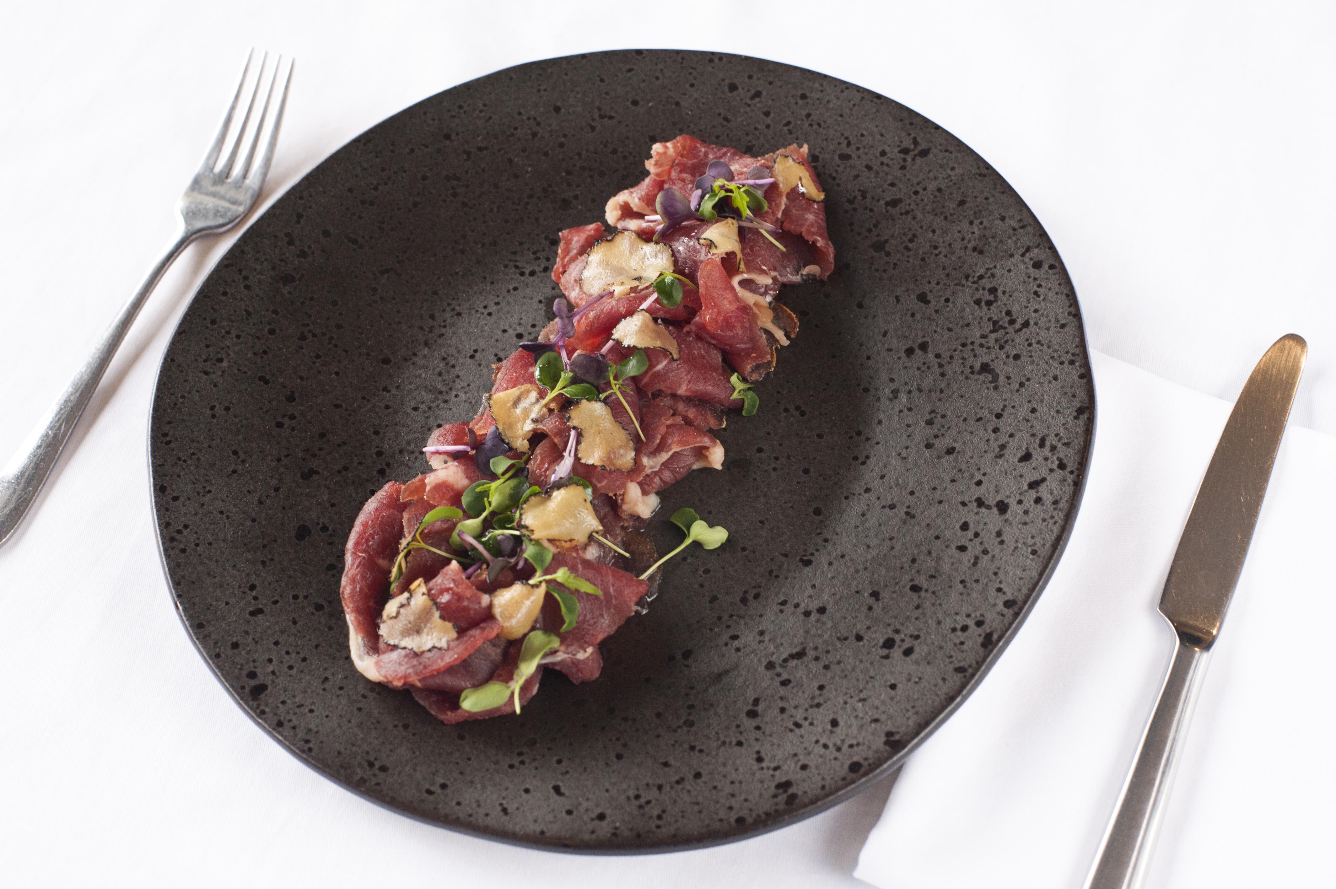 Beef Carpaccio Stuzzico Ristorante