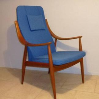 Peter Hvidt, fauteuil danois, 1960