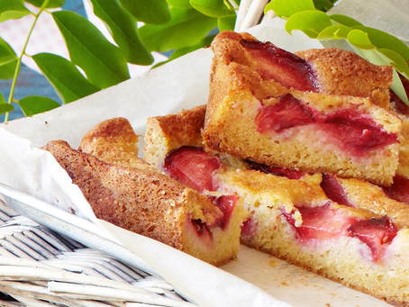 Delicious Baked Plum Cake
